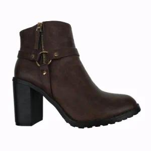 Outdoor Zipper Winter Ankle Boot for Women
