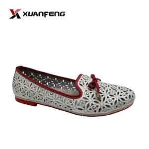 Wholesale Summer Woman′s Genuine Leather Shoe