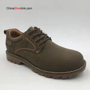 Wholesale High Quality Men′s Genuine Leather Outdoor Work Shoes