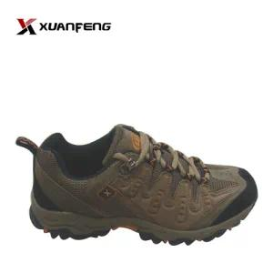 New Man Hiking Shoes Trekking Shoes Cow Suede Leather