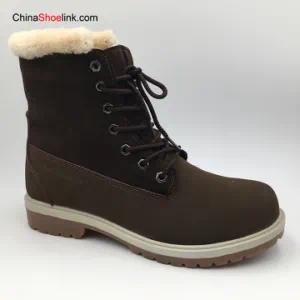 Good Quality Wholesale Men′s Leather Winter Boots