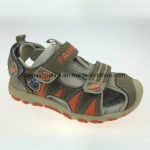 New Outdoor Flat Beach Sandal with PU Upper and TPR Outsole