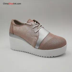 Popular Comfortable Women′s Leather Shoes