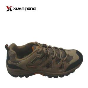 Fashion Men′s Hiking Shoes Trekking Shoes Cow Suede Leather