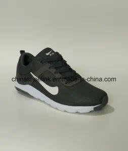 2018 Fashion Men′s Sneakers Running Athletic Shoes in Grey Color