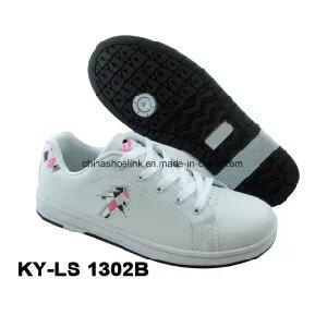 Lady Casual Skateboard Shoe Flat Shoe