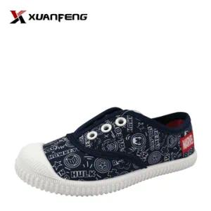 Wholesale Kid′s Injection Canvas Shoes with Printing