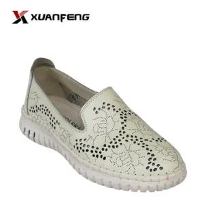 New Women′s Fashion Leather Shoes