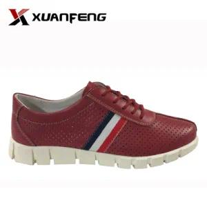 Popular Ladies′ Genuine Leather Leisure Casual Shoes