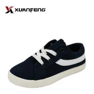Popular Kid′s Injection Canvas Shoes