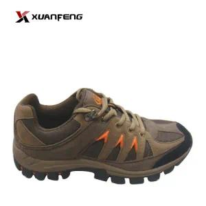 New Men′s Hiking Shoes Trekking Shoes Cow Suede Leather
